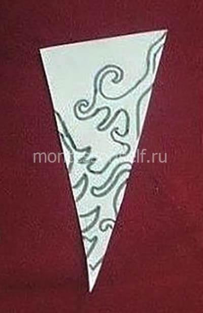 snezh7-2 Объемная снежинка из бумаги своими руками: схемы, шаблоны, мастер классы, как делать такой декор