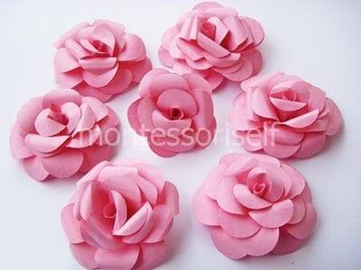 Цветок из бумаги на День Матери