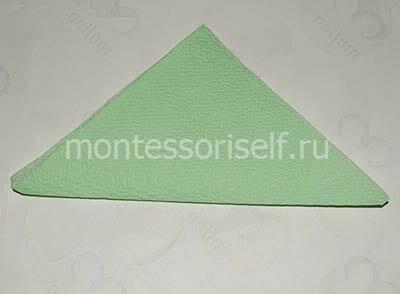 Делаем треугольник