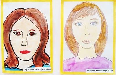 """Рисунок """"мама"""" выставка детских работ"""
