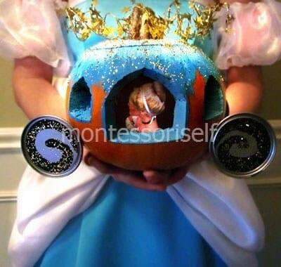 Карета из тыквы для принцессы