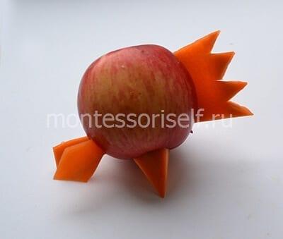 11 Поделки из яблок своими руками