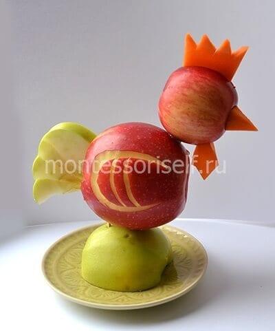 12 Поделки из яблок своими руками