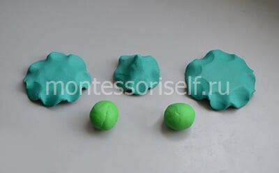 4-1 Аппликация из фетра своими руками для детского сада: Ёлочка