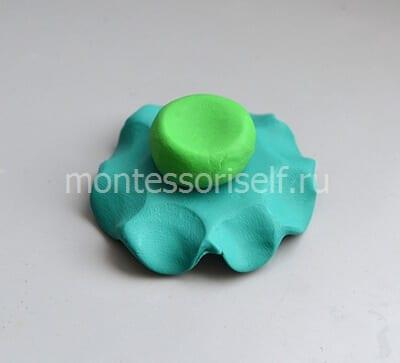 5-1 Аппликация из фетра своими руками для детского сада: Ёлочка