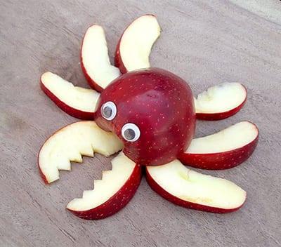 Краб из яблок