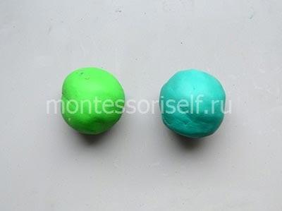 Два шарика