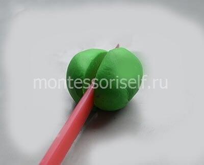 Разрезаем шарик