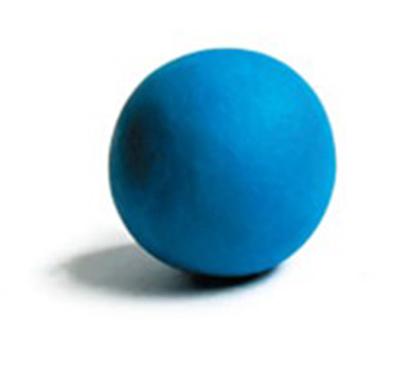 Формируем большой синий шарик