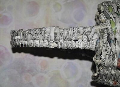 Плетеная ручка
