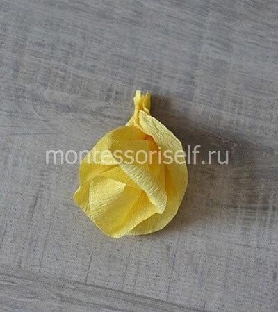 Желтый бутон