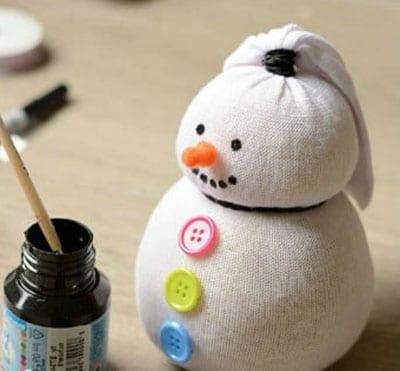 sn6-1 Поделка снеговик своими руками