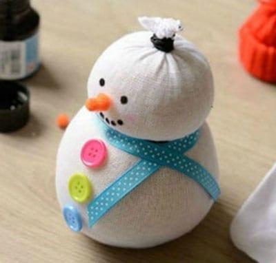 sn7-1 Поделка снеговик своими руками