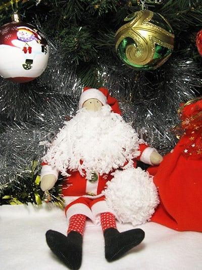Санта Клаус тильда своими руками