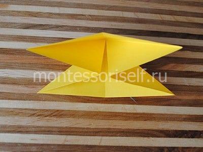 Фигура из двух треугольников