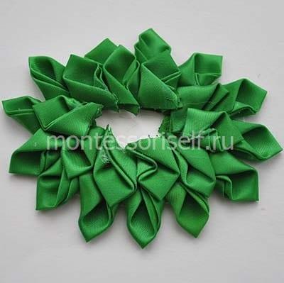 Второй ряд зеленых конвертиков