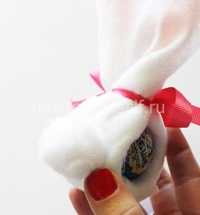 Оборачиваем конфету