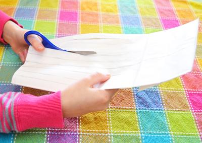 Нарезаем лист бумаги