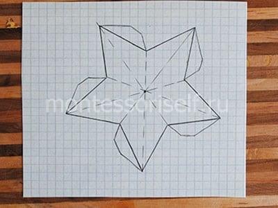 Рисуем звезду