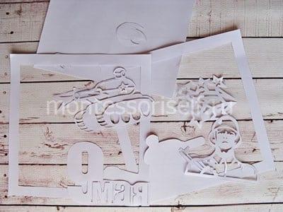 Распечатываем и вырезаем трафареты