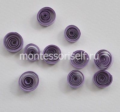 Фиолетовые роллы
