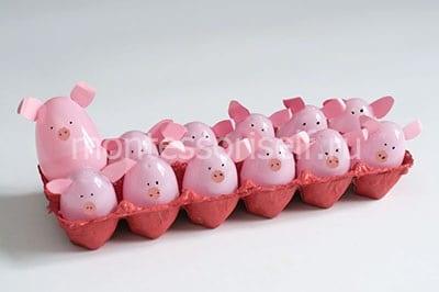 Семья свинок своими руками