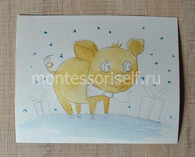 Рисуем снежинки