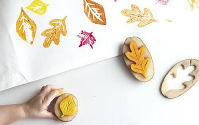 Печати (штампы) из картошки
