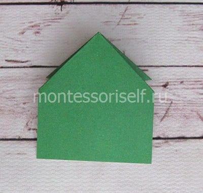 l10 Лягушка оригами из бумаги (которая прыгает): схема сборки для детей