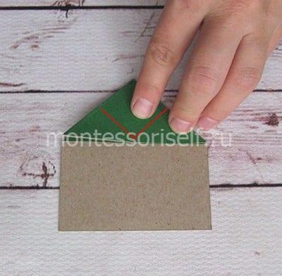 l11 Лягушка оригами из бумаги (которая прыгает): схема сборки для детей