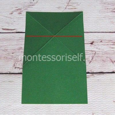 l7 Лягушка оригами из бумаги (которая прыгает): схема сборки для детей