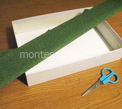 Коробочка и бумага