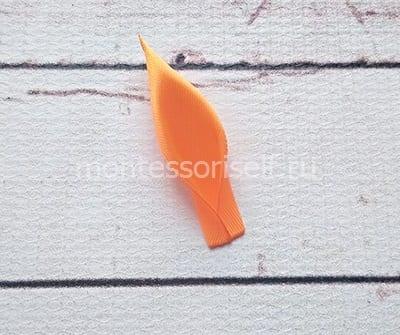 Лепесток из ленточки (фото 2)