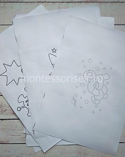 Распечатываем шаблоны для вырезания