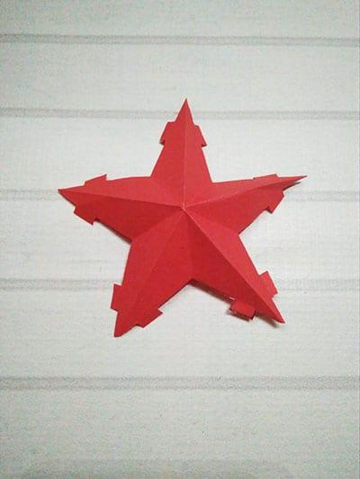 Звезда с креплениями