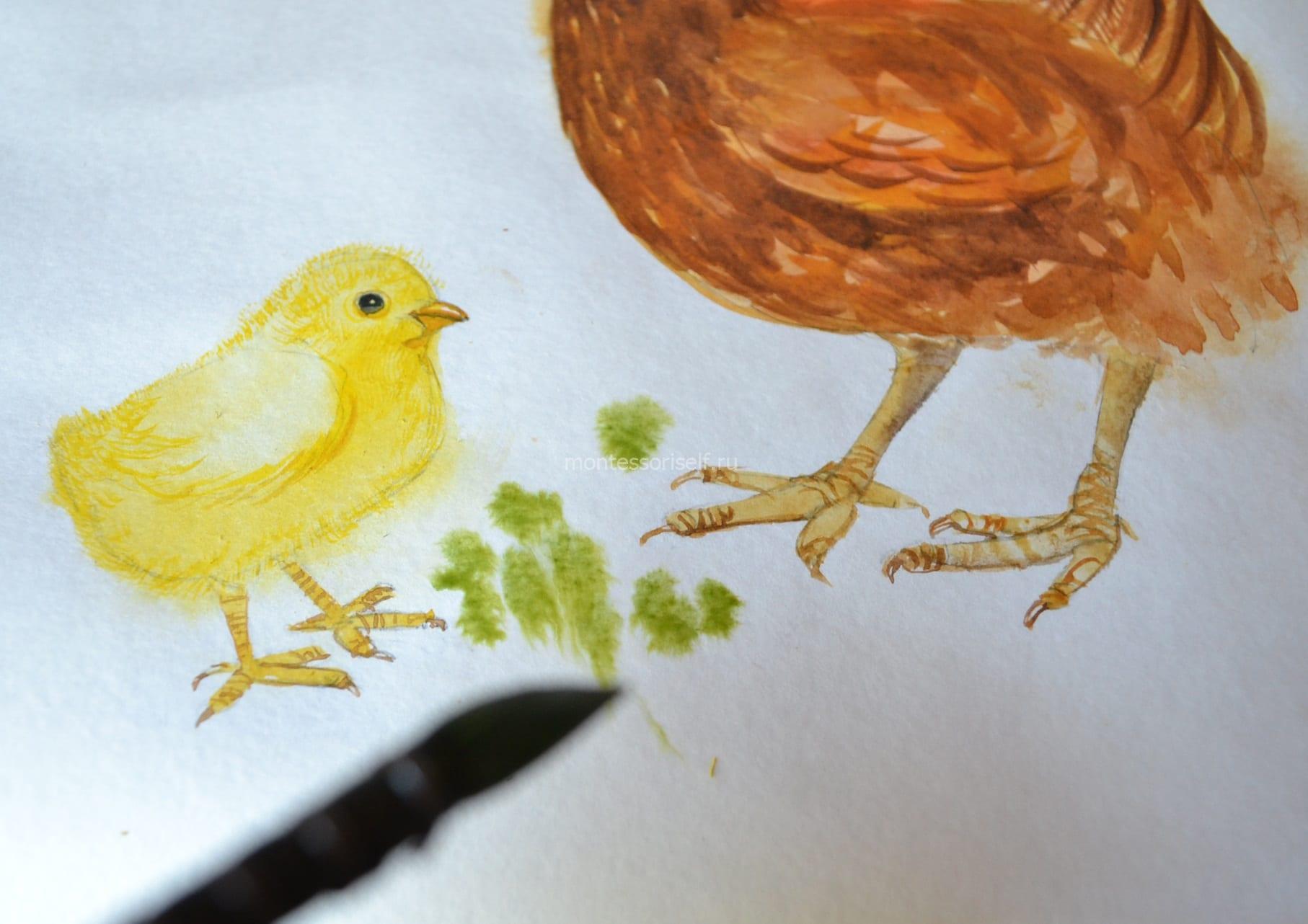 Рисуем травку