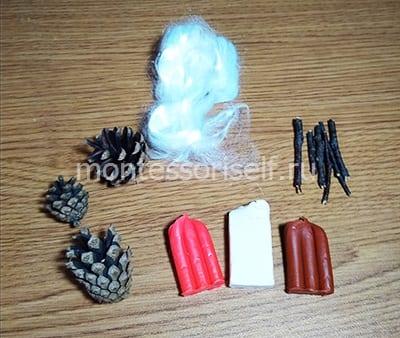 Материалы для изготовления гномов