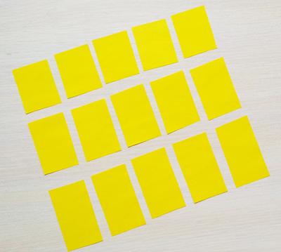 Прямоугольники из бумаги