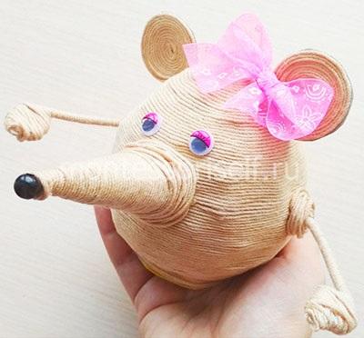 Сувенир на Новый Год - мышь