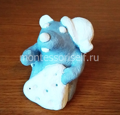 Раскрашиваем мышку