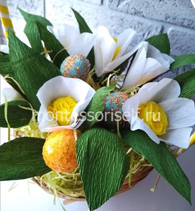 Цветы и яички