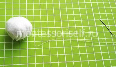 Формируем шарик