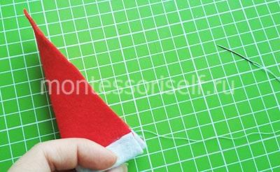 Сшиваем треугольник