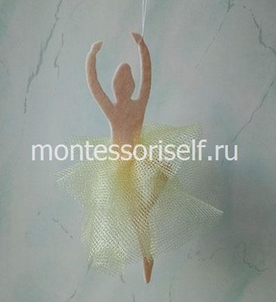 Снежинка - балеринка (фото 1)