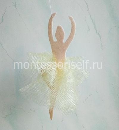 Снежинка - балеринка (фото 2)