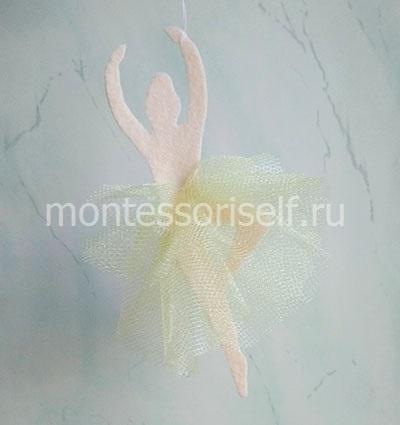 Снежинка - балеринка (фото 3)