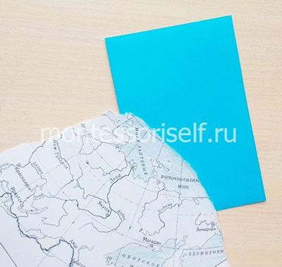 Кусочек карты