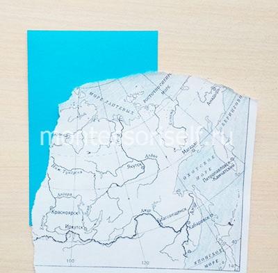 Приклеиваем карту