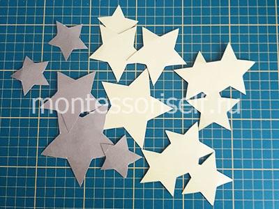 Звезды для поделки