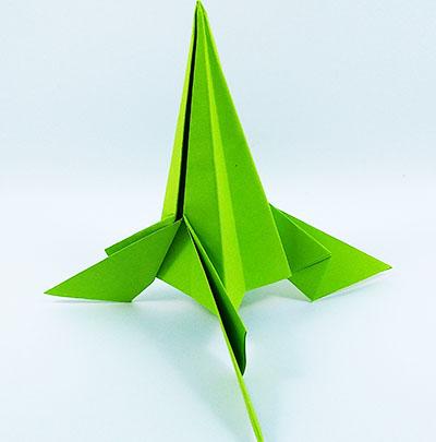 Ракета оригами 2